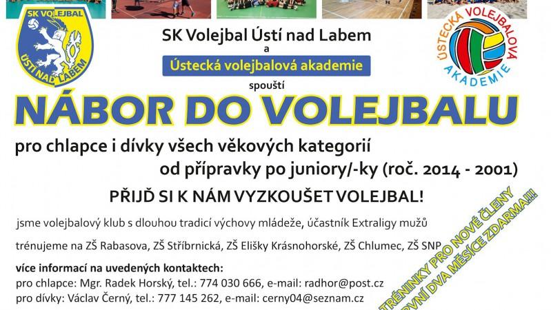 Foto: Začni hrát volejbal za SKV!