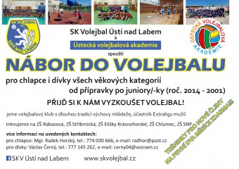 Začni hrát volejbal za SKV!