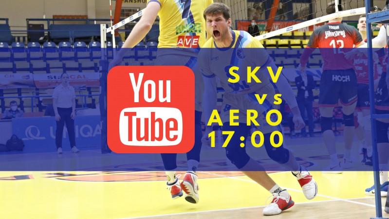Foto: Zápas SKV vs. AERO na YouTube!