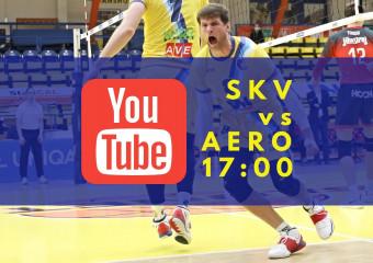 Zápas SKV vs. AERO na YouTube!