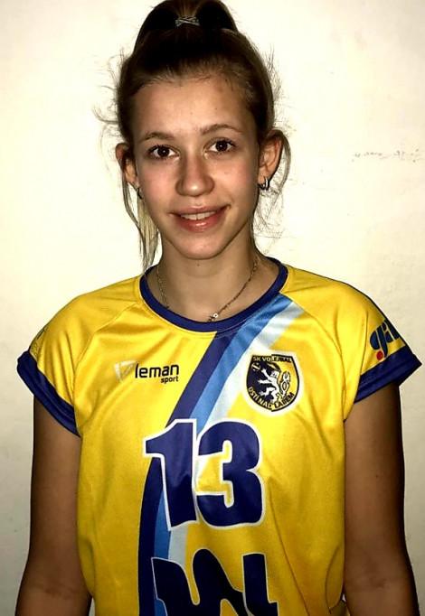 Lucie Krejčová - Blokařka